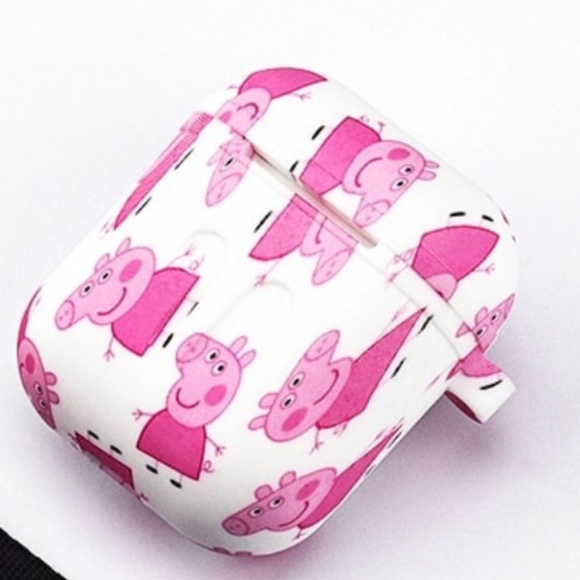 Peppa Pig Silicone Case Cover For Airpods Boutique